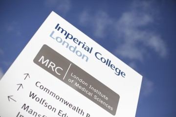 Imperial and MRC LMS logos