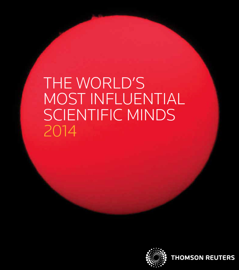 CSC's David Carling is one of The World's Most Influential Scientific Minds 2014