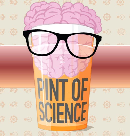Head down to your local for a Pint of Science
