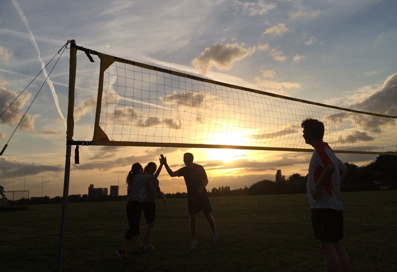 Volleyball in WormWood Scrubs