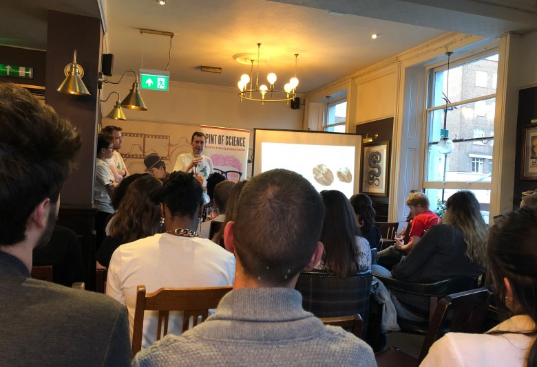 'Getting to the heart of the problem' – Declan O'Regan delivers Pint of Science talk